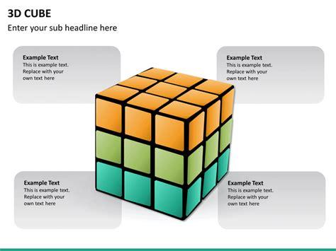 Powerpoint 3d Cubes Shape Sketchbubble Cube Powerpoint