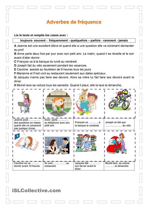 exercices de thme grammatical 135 best fle exercices de grammaire images on sleep french grammar and student