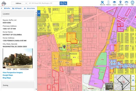 dc zoning map dc zoning map map2