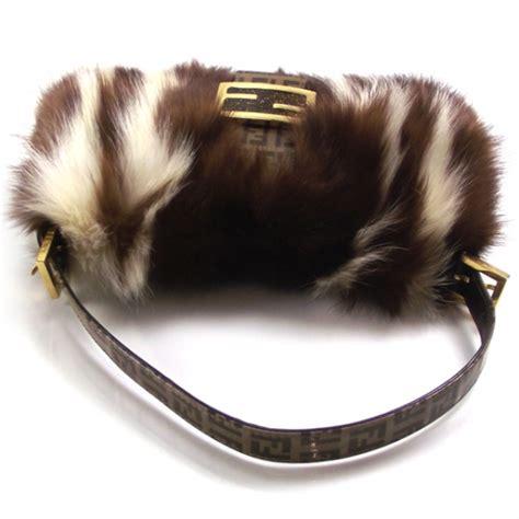 how to get skunk out of fur fendi striped skunk fur baguette handbag 12326