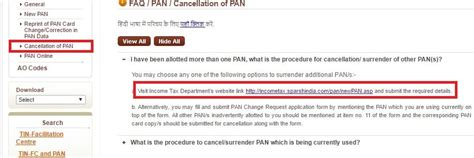 Pan Card Cancellation Letter Format how to cancel pan card application howsto co