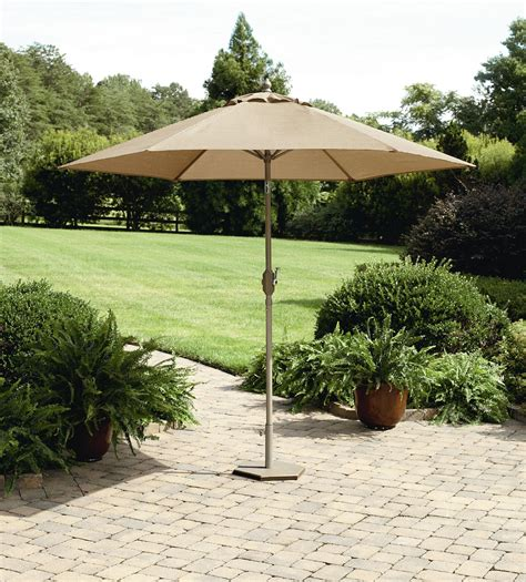 Garden Oasis Long Beach 9 Patio Umbrella Outdoor Living Sears Patio Umbrellas