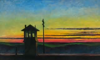 whitney museum of american art edward hopper railroad sunset