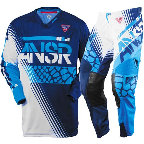 motocross gear store answer new 2016 mx ansr le 40 year alpha dirt bike navy