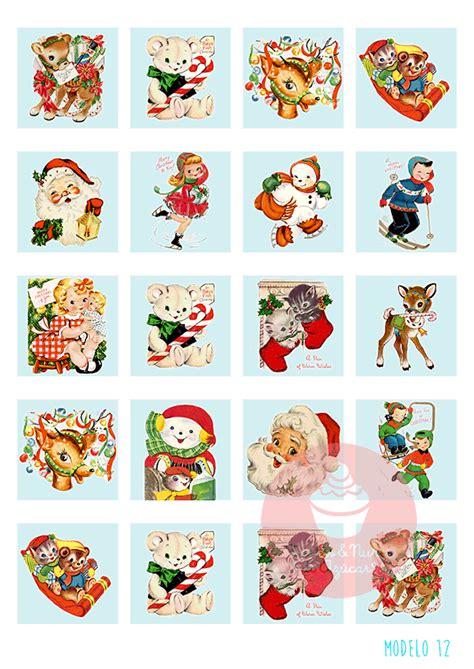 imagenes navidad redondas papel de az 250 car para decorar galletas quot naviad turquesa