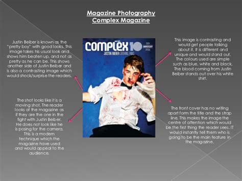 magazine photography analysis  research