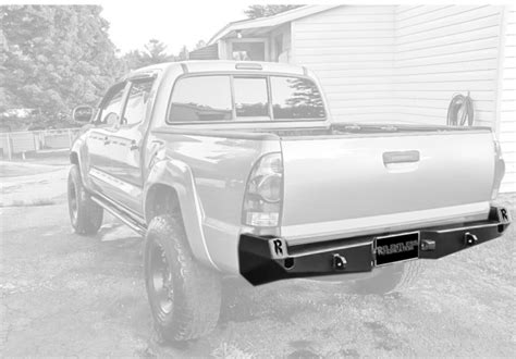 2005 Toyota Tacoma Rear Bumper 2005 2015 Tacoma Rear Plate Bumper Relentless Road
