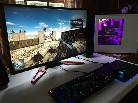 4k Pc Gaming Not Worth It Yet Business Insider Gaming Desk Top