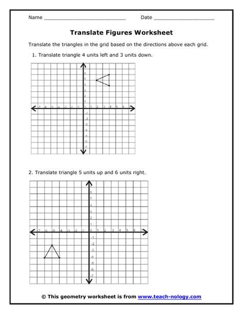 printable math worksheets reflections printables reflections worksheet geometry agariohi