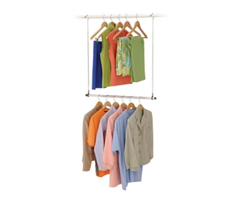 Closet Doubler the amount of space in your closet closet