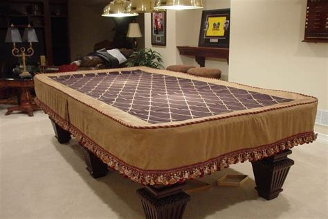 custom pool table cover