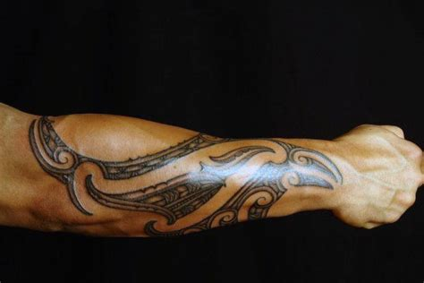 forearm tribal tattoo ideas 60 tribal forearm tattoos for manly ink design ideas