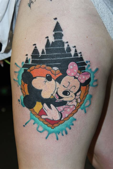minnie and mickey tattoos mickey and minnie