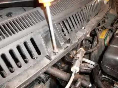 sostituzione rubinetto sostituzione smontare rubinetto riscaldamento ford ka