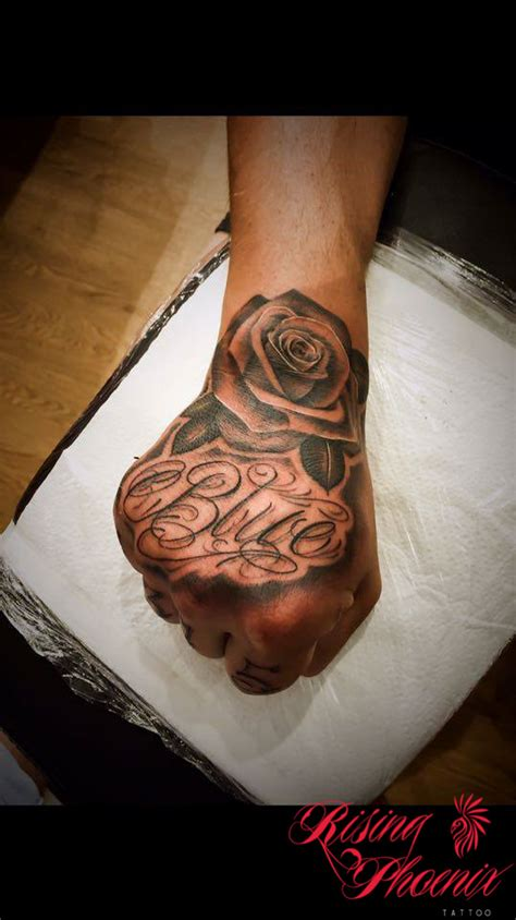 rose tattoo script script rising