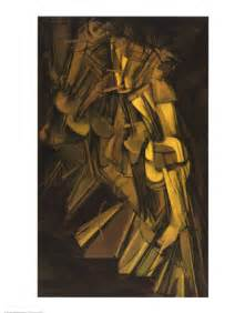 Duchamp Stairs by Descending A Staircase No 2 1912 By Duchamp