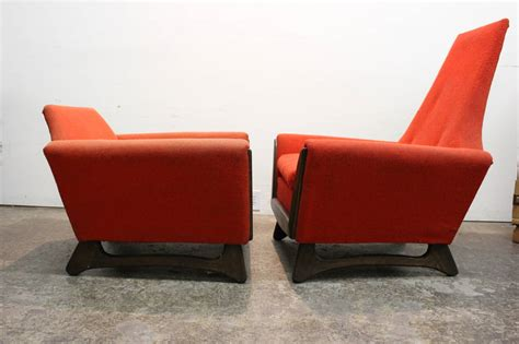 his and hers recliners his and hers chairs by adrian pearsall for sale at 1stdibs