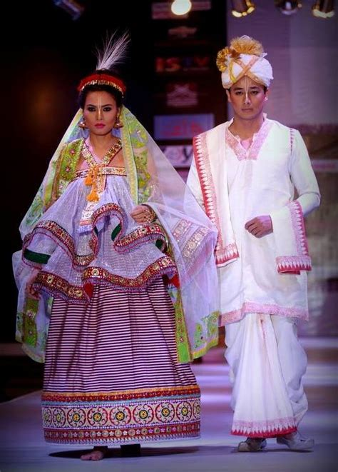 Fashion Smackdown Who Wore It Better Second City Style Fashion by Marriage Dress Manipur Kangjam