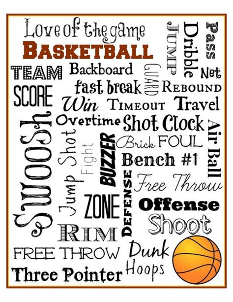 printable basketball quotes basketball subway art free printable mini van dreams
