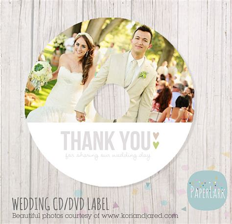 design cover cd wedding wedding cd label photoshop template ew001 instant download