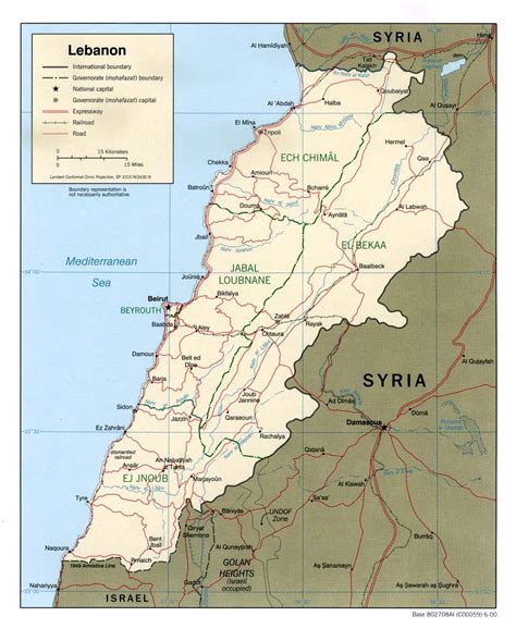 map of lebanon the lebanon lebanon map of lebanon