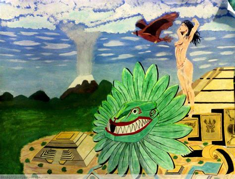 imagenes de paisajes aztecas mujer azteca jorge ivan suarez rodriguez artelista com