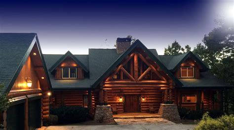 classic log homes log cabin builders custom