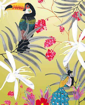 abigayle coghlan textiles sle development ideas tropical wallpaper abigayle coghlan textiles sle development ideas