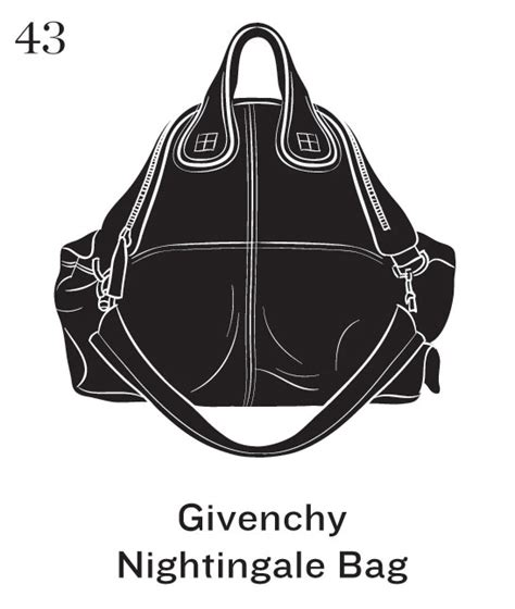 Tas Givenchy Nightingale Classic Ghw Ss16 fashionistas daily top 50 signature handbags illustrated by la times