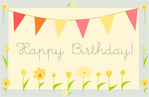 Electronic Happy Birthday Cards Free by Free Printable Happy Birthday Greeting Card Quot Gartenparty