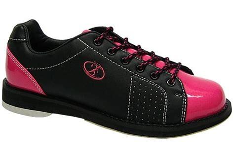 elite womens athena black pink bowling shoes free shipping