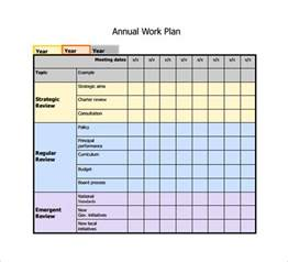 Template For Plan by 11 Work Plan Templates Free Sle Exle Format