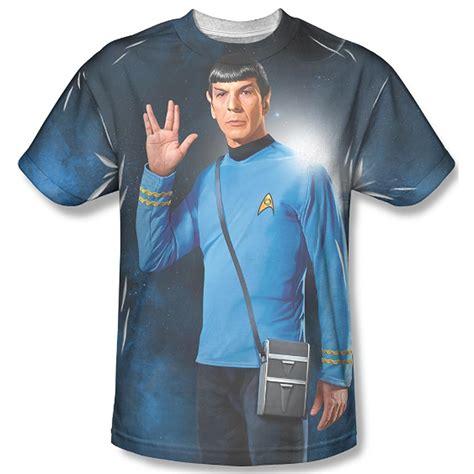 Tshirt Live And Prosper trek spock live and prosper sublimation t shirt