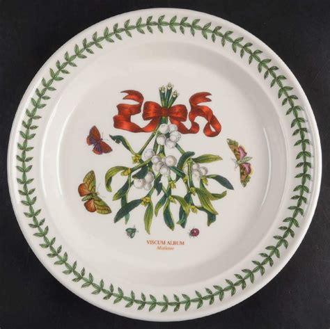 portmeirion botanic garden mistletoe dinner plate 2474731