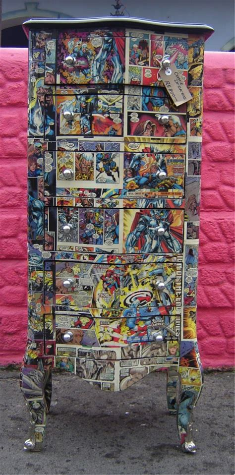 Decoupage Comic Book - craziest home decor accessories mozaico mozaico
