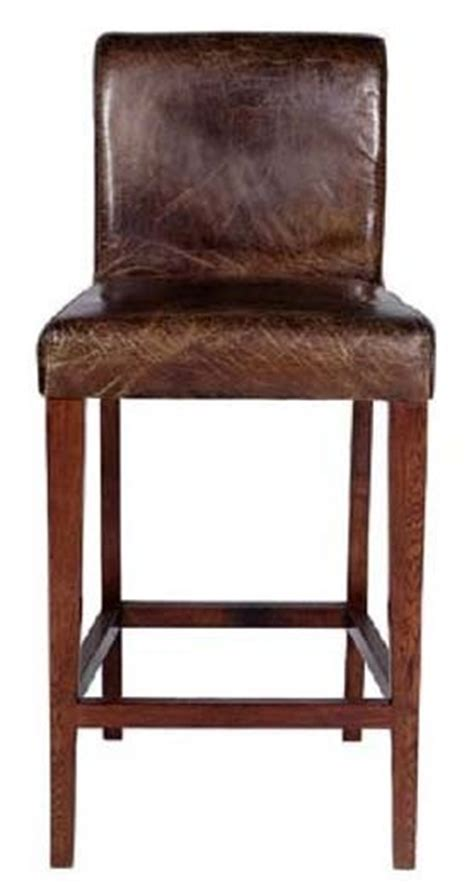 Distressed Leather Bar Stools by Pin By Woodland Creek Furniture On Rustic