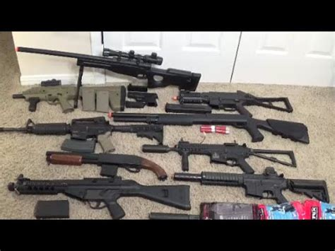 Airsoft Gun Giveaway - airsoft gun collection 2 christmas airsoft giveaway youtube