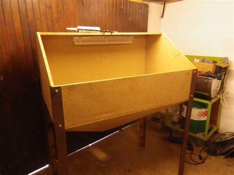 fabrication d une cabine de sablage