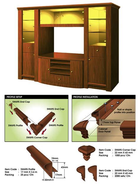 cabinet cornice sw695 cabinet cornice profile manufacturer scanwolf