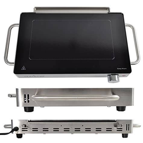 electric cooktop griddle nutrichef electric griddle portable stainless steel