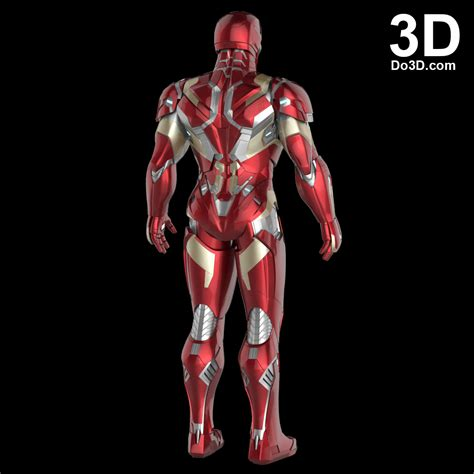 Home Design 3d Reviews by 3d Printable Suit Iron Man Mark Xlvi Xlvii Armor Model
