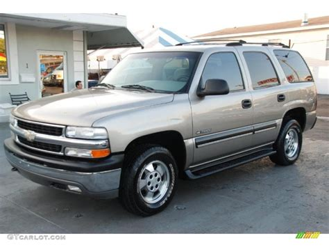 Exterior House Ls by Light Pewter Metallic 2001 Chevrolet Tahoe Ls Exterior