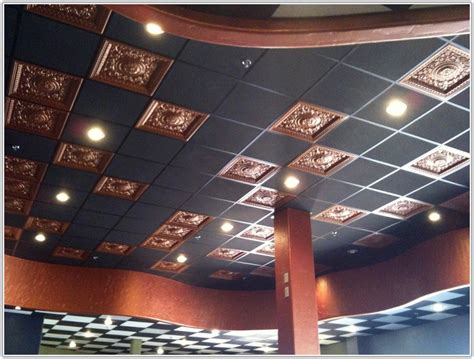 Decorative Drop Ceiling by Decorative Ceiling Tiles For Drop Ceiling Tiles Home