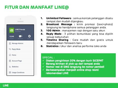Jual Tambah Followers Adders Line 1 000 Adders jual jasa tambah adders followers ppt line indonesia