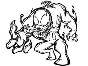 venom coloring pages printable venom coloring pages coloring me