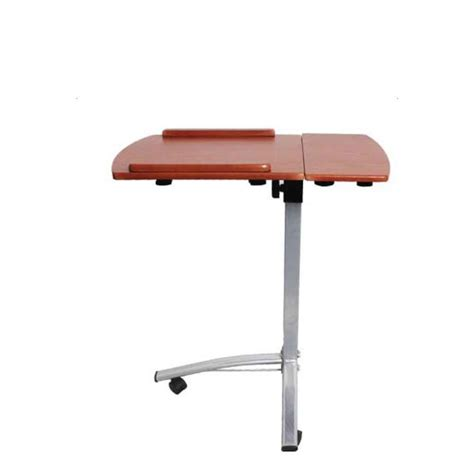 laptop desk cart adjustable angle height rolling laptop desk cart bed