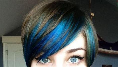 mechas ceniza intensa en cabello corto 20 ideas vanguardistas para pelo corto con mechas