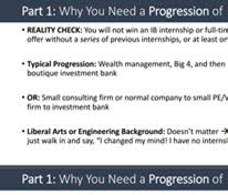 Walk Me Through Your Resume Sle Answer Mba by Investment Banking Guide The Best Guide On The