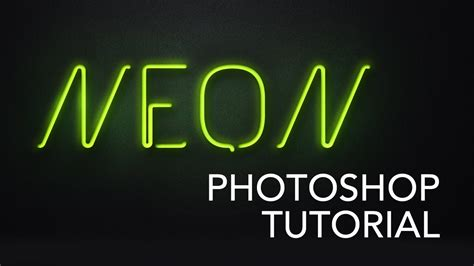 photoshop vector text tutorial neon style text photoshop tutorial youtube