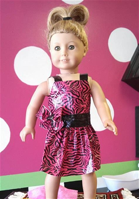 How To Make American Doll Stuff Out Of Paper - duct american doll clothes duct crafts